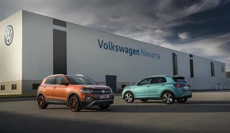 Volkswagen presenta en su fábrica de Navarra el T-Cross