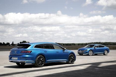 Ya disponibles los Volkswagen Arteon y Arteon Shooting Brake híbridos enchufables