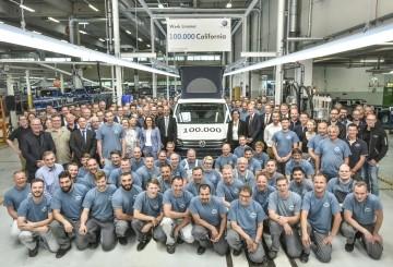 """100.000 furgonetas Volkswagen California """"Made in Hannover"""""""