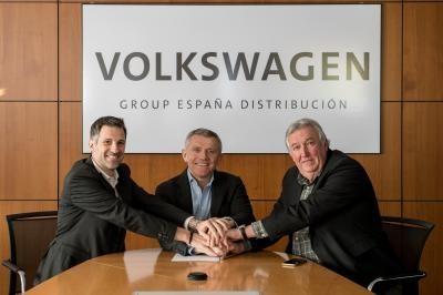 Firma del II Convenio Colectivo entre Volkswagen Group España y el Comité de Empresa