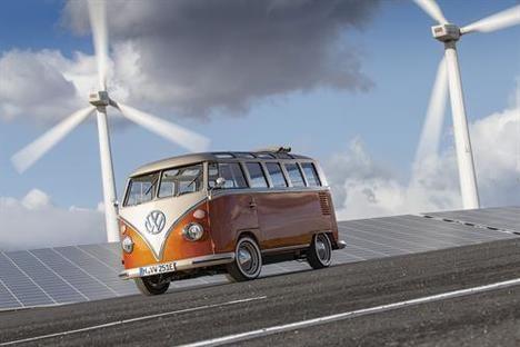 El nuevo Volkswagen e-Bulli