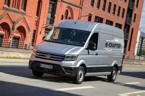 Volkswagen lanza en España el nuevo E-Crafter