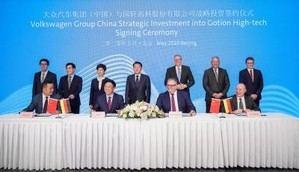 Volkswagen intensifica sus actividades en materia de movilidad eléctrica en China