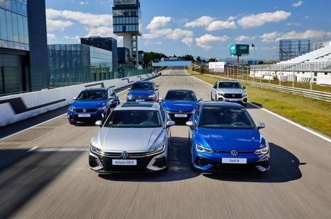 Volkswagen presenta su gama deportiva R