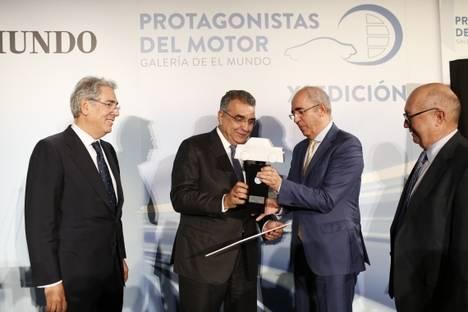 Francisco Javier García Sanz premio Protagonista del Motor 2017