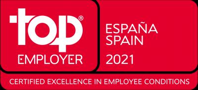 Certificado como Top Employer para Volkswagen Group España Distribución