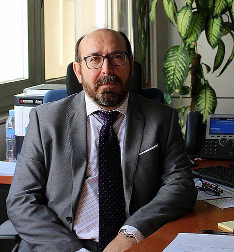 Valentín Sanz, director territorial de Ibermutua en Asturias.