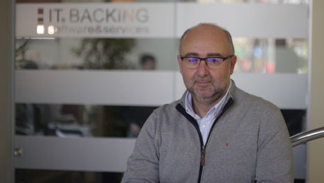 Vicente Pinardell, CEO de IT.Backing.