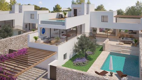 El reconocido arquitecto Víctor Rahola firma para The White Angel una exclusiva colección de 15 viviendas en Cala Comte (Ibiza)