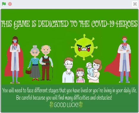 """Más de 400 niños participan en un reto para crear un videojuego de aventuras centrado en los """"Héroes sin capa"""" de la Covid 19"""