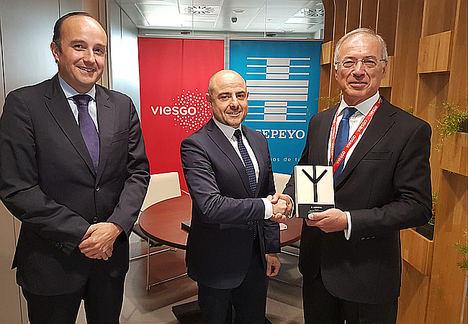 Viesgo, reconocido en los VII Premios Asepeyo a las mejores prácticas preventivas