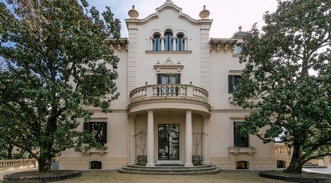 Monika Rüsch pone a la venta el palacete Villa Narcisa, joya del modernismo y novecentismo barcelonés