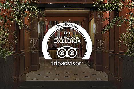 """""""¡Somos excelentes!"""". Y no lo dice la cadena, sino TripAdvisor en 27 de sus hoteles"""