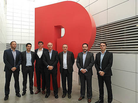 Leroy Merlin apoya la internacionalización de PAMESA como proveedor de ADEO