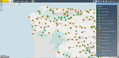 Fomento aglutina todo el patrimonio cultural, natural y de ocio de España en un mapa digital interactivo