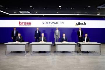 Brose y Volkswagen AG firman un acuerdo Joint Venture