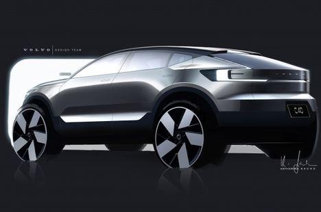 Historia del diseño del Volvo C40 Recharge