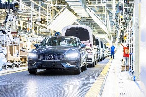 La fábrica de Volvo Cars en Daqing funciona con electricidad 100% neutra para el clima