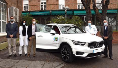 Volvo Car España cede un XC40 al Hospital Niño Jesús