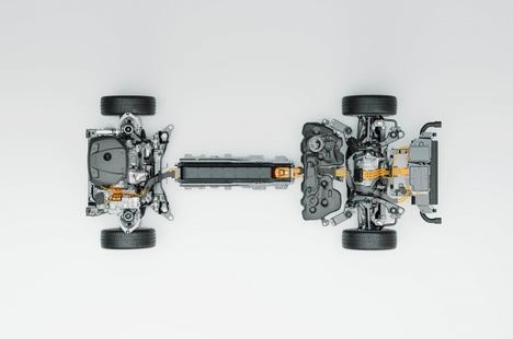 El nuevo motor híbrido enchufable de Volvo aumenta su kilometraje con una sola carga