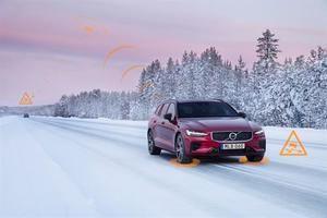 Los vehículos Volvo se avisarán entre sí de posibles peligros en toda Europa