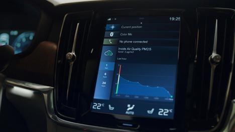 Clean Zone Multifiltro con sensor de partículas para los nuevos Volvo