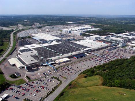 Nuevo taller de pintura de Volvo en la planta de Torslanda