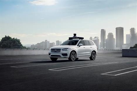 Volvo Cars y Uber presentan un vehículo listo para la conducción autónoma