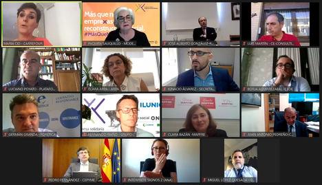 Tercer Sector, empresas y Gobierno apuestan por una gran alianza para avanzar en la reconstrucción social a través de la Casilla Empresa Solidaria
