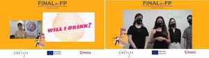 WILL I DRINK? y QCOMO?, ganadores Programa e-FP.