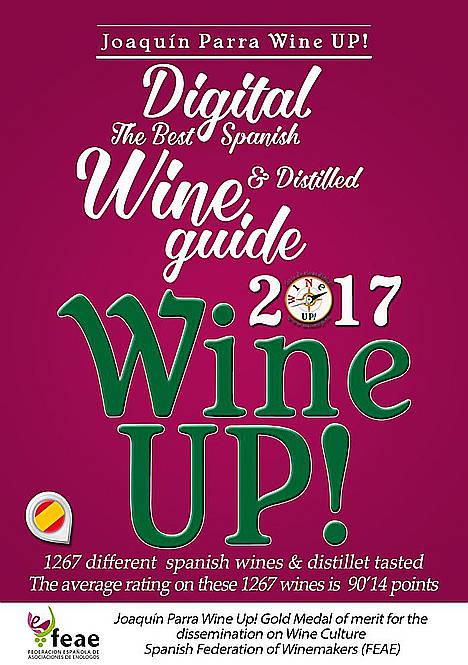Descargue gratis la guía de vinos y destilados Wine Up! 2017