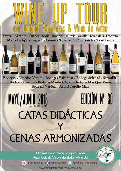 Wine Up Tour, 30 ediciones viajando con la cultura del vino por bandera