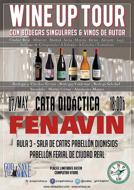 Fenavin inaugura la 33ª Edición del Wine Up Tour en la que se superan las 300 etapas