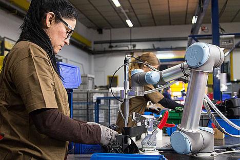 Los robots colaborativos que serán tus próximos compañeros de trabajo, protagonistas en Global Robot Expo