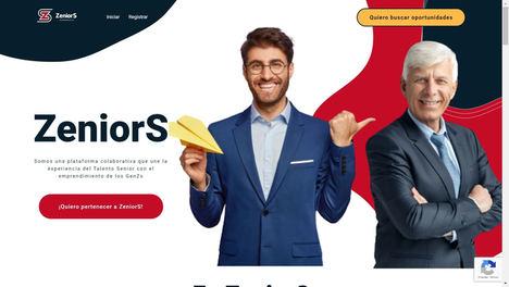 ZeniorS: la plataforma colaborativa de negocios entre el talento sénior y el emprendimiento joven