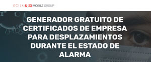 ECIJA y 3GMG lanzan una solución gratuita de firma electrónica para certificar desplazamientos laborales durante el estado de alarma