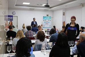 Wine Up Tour en la escuela española de cata.