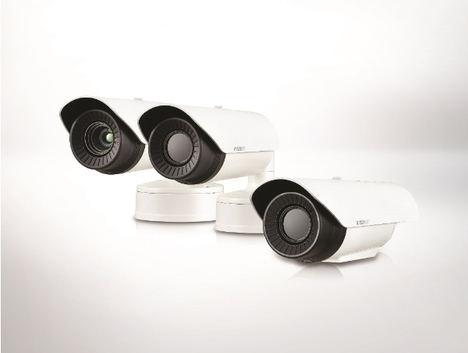 Hanwha Techwin presenta las nuevas cámaras térmicas VGA Wisenet