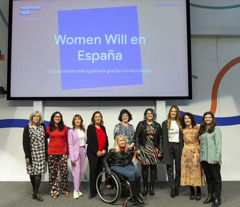 Google presenta 'Women Will' en España, una iniciativa que contribuye a reducir la brecha de género