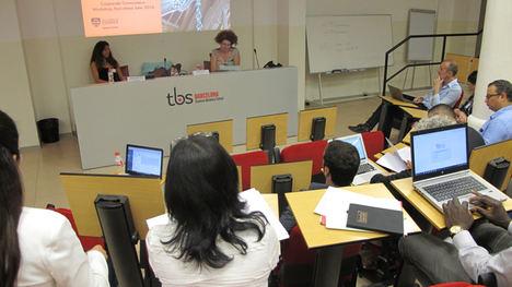 Política, digitalización y sostenibilidad, a debate en el seminario de gobernanza corporativa de TBS Barcelona