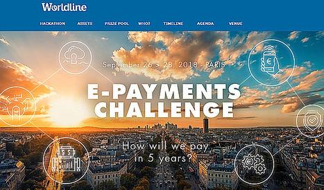 """Worldline organiza su primer Hackathon sobre el """"Desafio de pagos electrónicos"""" un evento a gran escala destinado a Fintech para inventar el futuro de los pagos"""