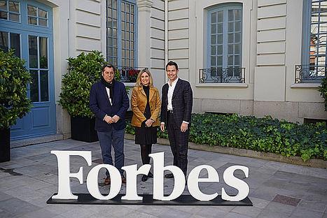 De izqda. a dcha.: Rui Marques (Director general-supplychain Iberia en XPO Logistics), Sara Resa (Directora de recursos humanos Iberia en XPO Logistics) y Massimo Marsili (Director general-transporte Iberia en XPO Logistic.