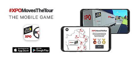 El juego para móvil de XPO Logistics invita a los jugadores a Mover el Tour de Francia