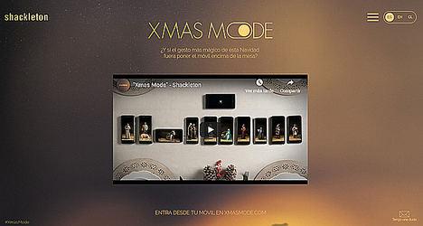 Creatividad y tecnología para convertir el móvil en un aliado del espíritu navideño