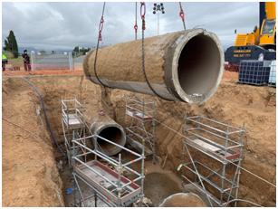 Xylem aporta su tecnología en la reparación de la tubería principal del CAT en Tarragona
