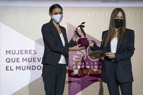 La fundadora y CEO de la startup logística GOI, Yaiza Canosa, Premio FEDEPE por su capacidad de emprendimiento