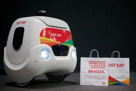 Yape, el prototipo de robot autónomo presentado por Just Eat.