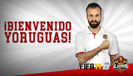 MAD Lions E.C. refuerza su presencia en FIFA con la entrada de Stefano 'Yoruguas' D'Angelo