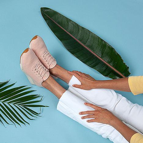 Las zapatillas de lana también son para el verano