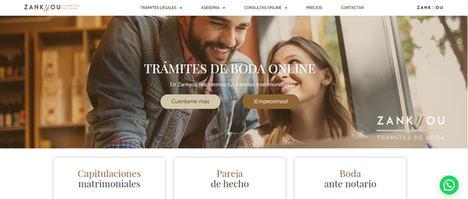 Zankyou.es digitaliza los trámites de boda en España. Las parejas podrán decir